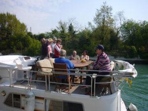 Gruppenreise Hausboot