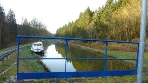 Hausboot am Canal de Vosges