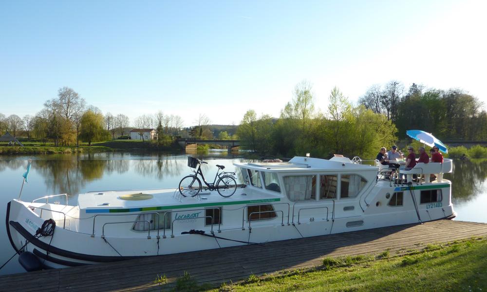 Hausboote mieten Frankreich Penichette 1500 FB mit Aussendeck