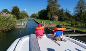 Haubbooturlaub mit Kindern