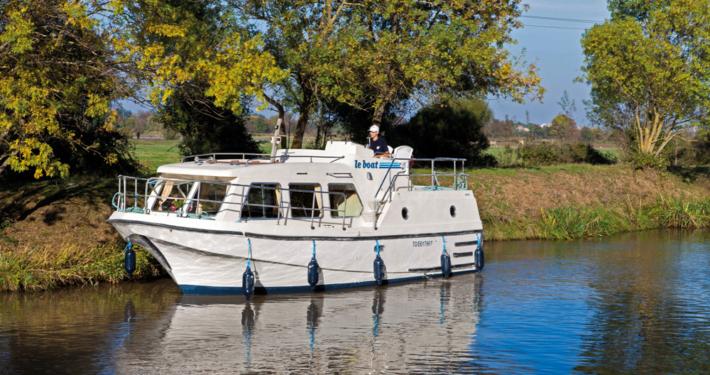 Hausboot Sheba mit 1 Kabine und Aussensteuerstand