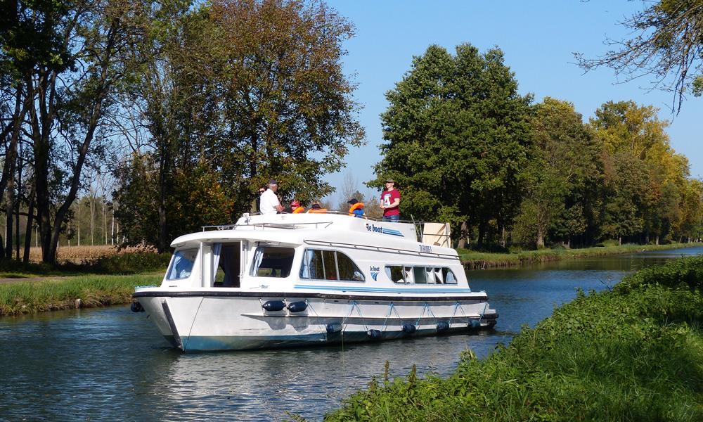 Hausboot Calypso mit 3 Kabinen
