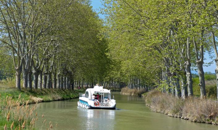 Hausboot auf dem canal du Midi Nicolsboot