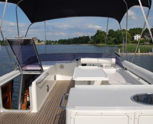 Hausboot mieten Europa 700, Aussendeck
