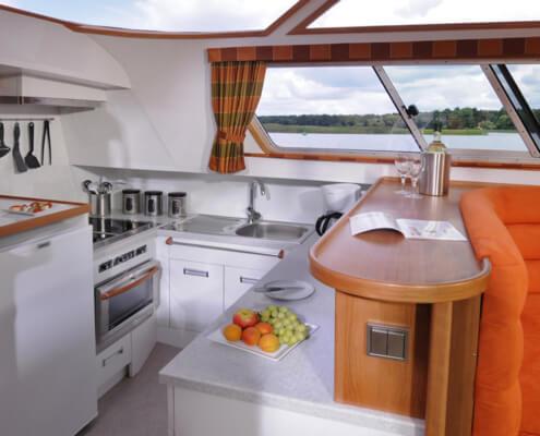 Hausboot mieten Europa 700, Küche