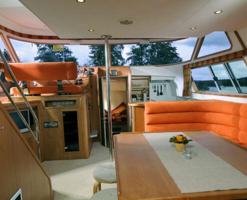 Hausboot mieten Europa 700, Wohnraum