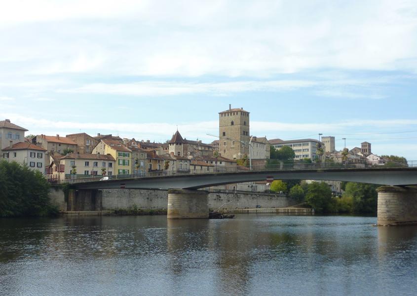 Hausbooturlaub am Lot, Cahors