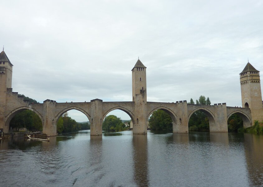 Hausboot Lot - Pont Valentre