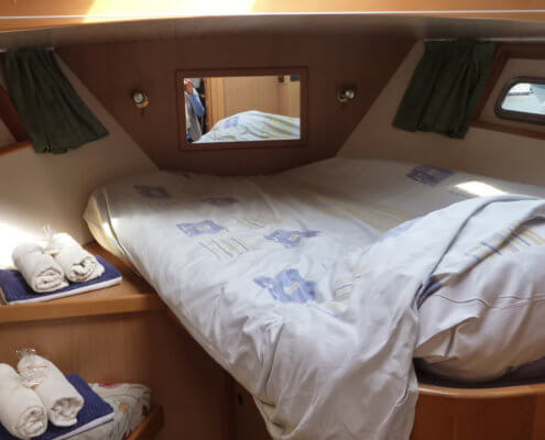 Hausboot Goldflower Elite Schlafkabine