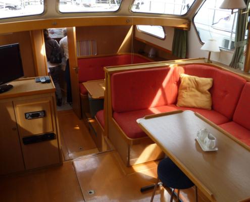 Hausboot Goldflower Wohnraum