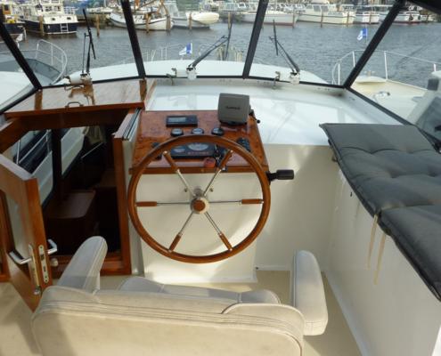 Hausboot Iris Holland Aussendeck