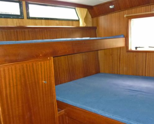 Hausboot Kimberly Schlafkabine