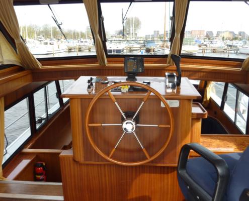 Hausboot Kimberly Steuerstand