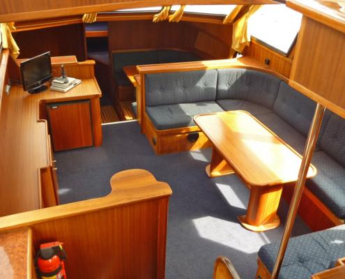 Hausboot Kimberly Wohnraum