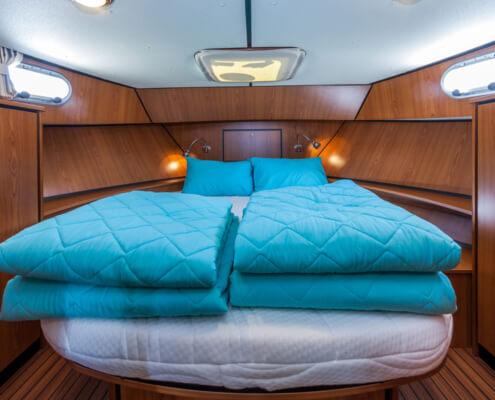Hausboot Linssen 34.9 Schlafkabine