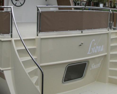 Hausboot Liona Elite Heck