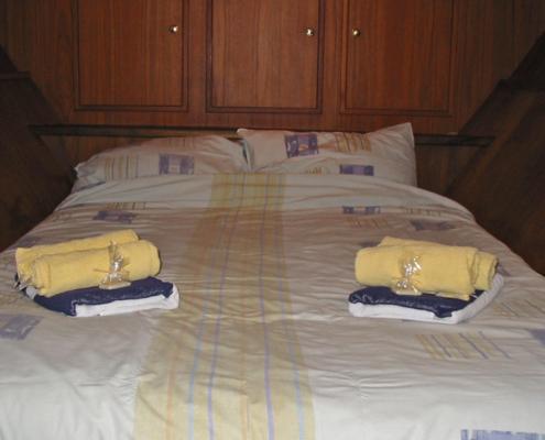 Hausboot Liona Elite Schlafkabine