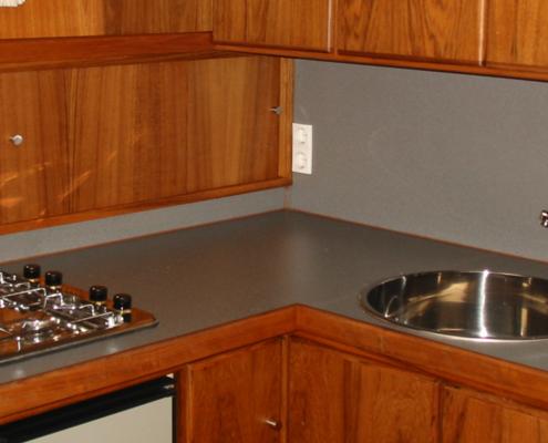 Hausboot Liona Elite Küche