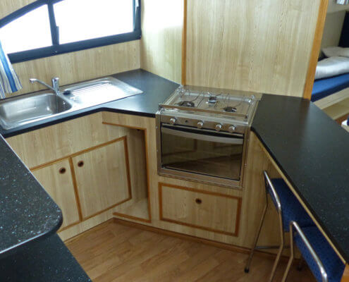 Hausboot mieten Magnifique, Küche