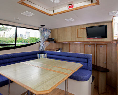 Hausboot mieten Magnifique, Salon