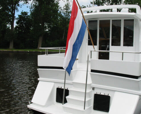 Hausboot Maurice Elite Heckterrasse