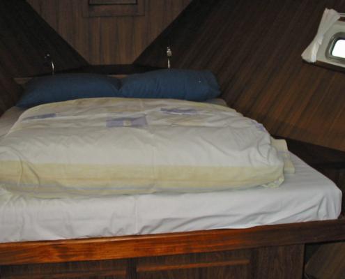 Hausboot Maurice Elite, Schlafkabine