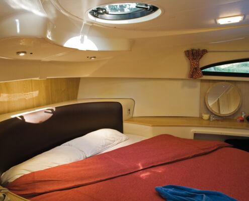 Hausboot mieten Mystique moderne Schlafkabine