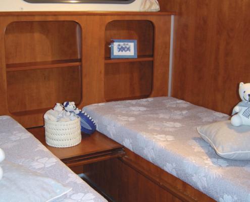 Hausboot Nicols 1350 Schlafkabine