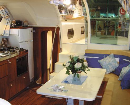 Hausboot Nicols 1350 Wohnraum