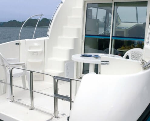 Hausboot Nicols Duo Terrasse