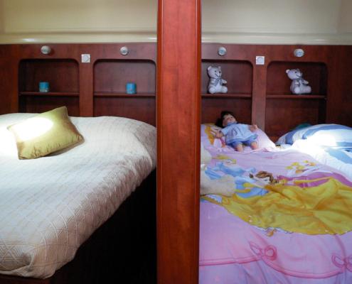 Hausboot Nicols Quattro Schlafkabinen