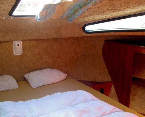 Hausboot Nicols 1000 Schlafkabine