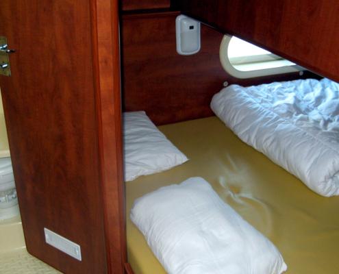 Hausboot Nicols 1000 Schlupfkabine