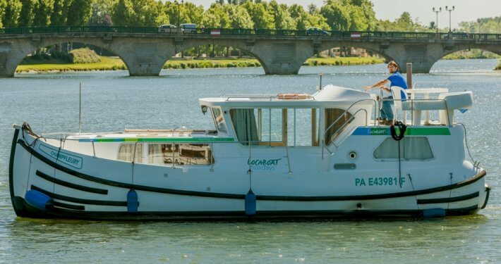 Hausboot Prenichette 1020FB mit 2 Kabinen