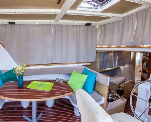 Hausboot Penichette 1020 FB Wohnraum