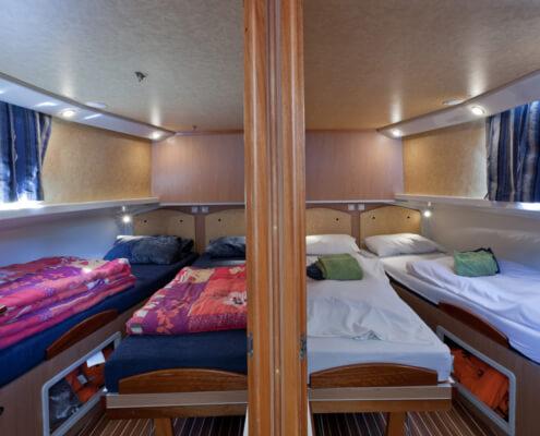 Hausboot mieten Penichette 1180 FB Schlafkabinen