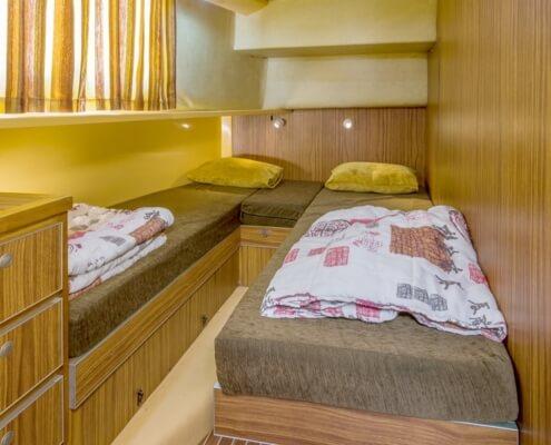 Hausboot Penichette 1400 FB Schlafkabine