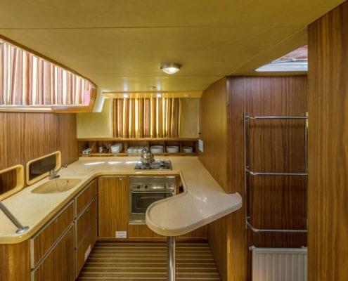 Hausboot Penichette 1400 FB Küche