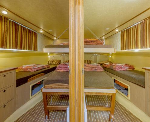 Hausboot Penichette 1500 FB Schlafkabinen