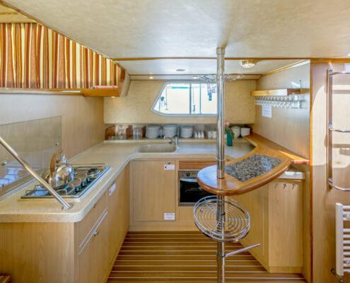 Hausboot Penichette 1500 FB Küche