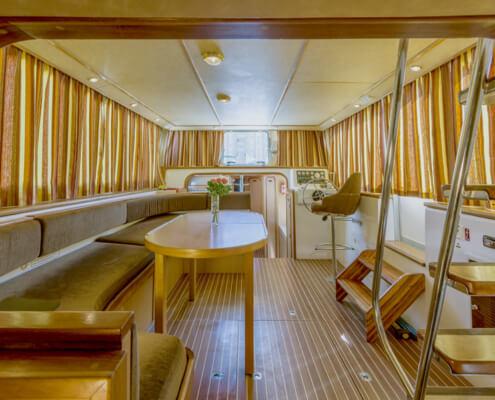 Hausboot Penichette 1500 FB Wohnraum