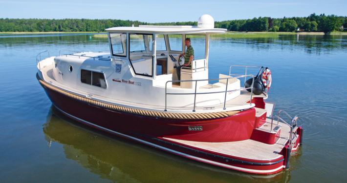 Hausboot Riverboat 1122 führerscheinfrei
