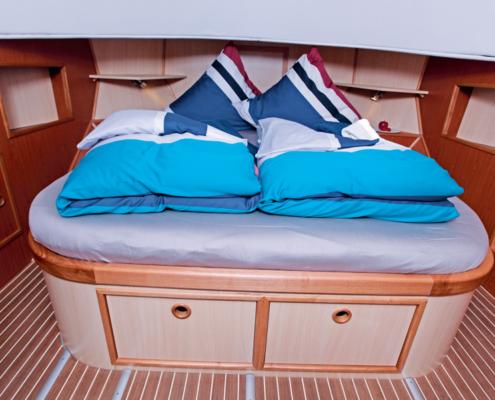 Hausboot Riverboat 1122 Doppelbett Kabine