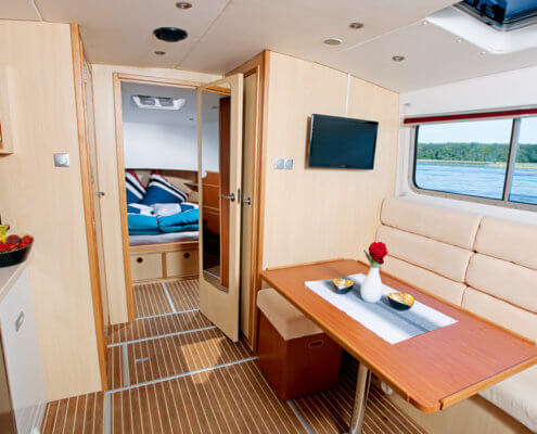 Hausboot Riverboat 1122 Wohnraum