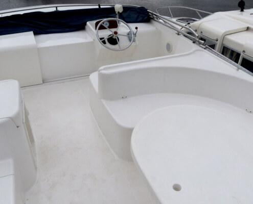 Hausboot mieten Royal Mystique Aussendeck