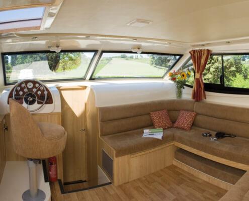Hausboot mieten Royal Mystique Wohnraum