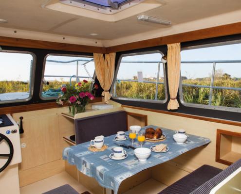 Hausboot Sheba Wohnraum
