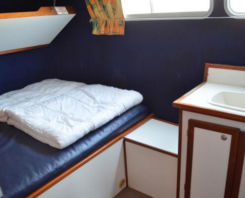 Hausboot Tarpon 37 N Schlafkabine