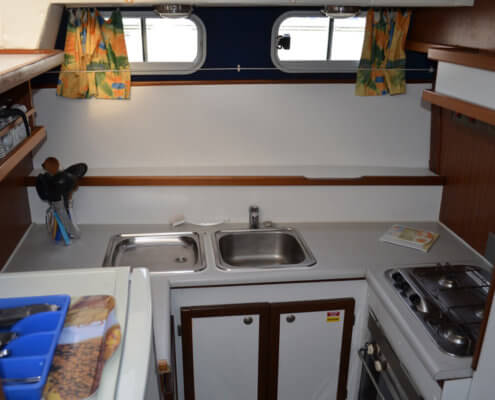Hausboot Tarpon 37N Küche