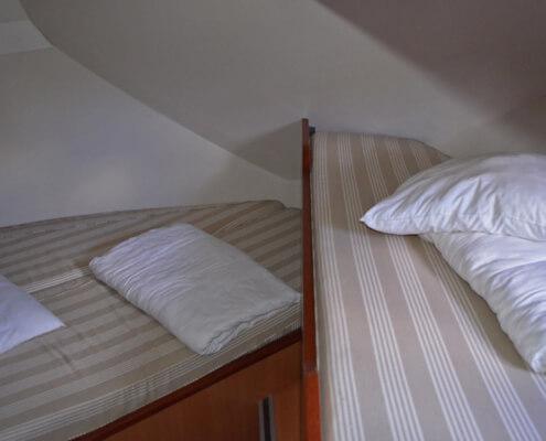 Hausboot Tarpon 42 Schlafkabine